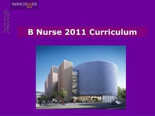 B Nurse 2011 Curriculum