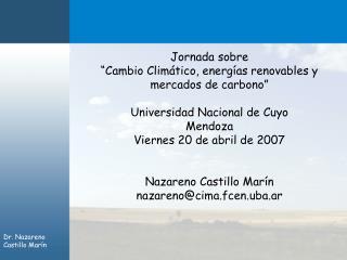 Dr. Nazareno Castillo Mar n