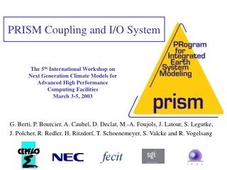 The 5th International Workshop on  Next Generation Climate Models for  Advanced High Performance  Computing Facilities