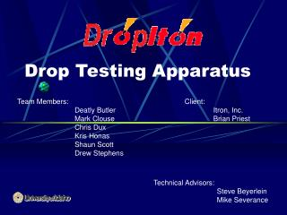 Drop Testing Apparatus