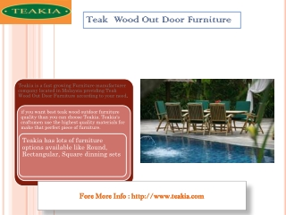 Best Teak Wood Out Door Furniture