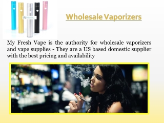 Wholesale Electronic Cigarettes