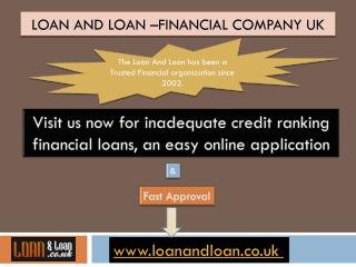 Loan and loan