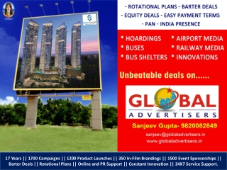 CHOWBEY BUILDER Outdoor Media Advertising