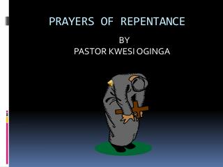 PRAYERS OF REPENTANCE