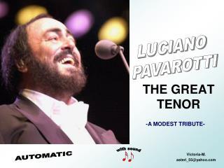 THE GREAT TENOR