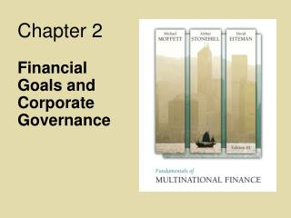 Financial Goals and Corporate Governance