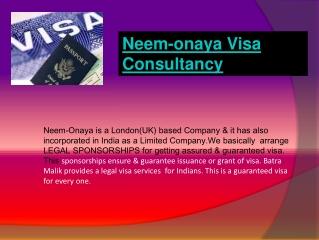 neem-onaya visa consultancy