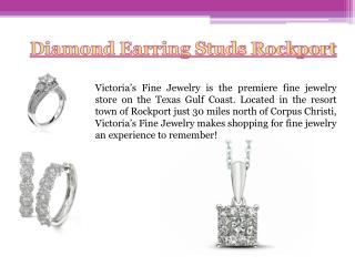 Diamond Stud Earrings Rockport