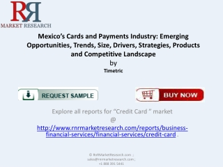 Latest Report on Cards and Payments Market in Mexico
