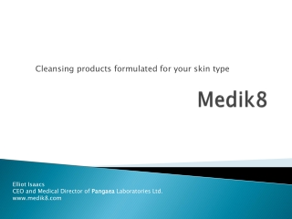Medik8 Face Cleansing products formulated for your skin type