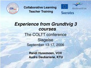 Collaborative Learning                              Teacher Training