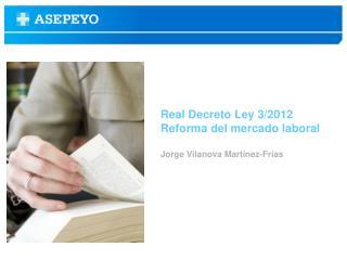 Real Decreto Ley 3