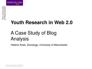 Youth Research in Web 2.0