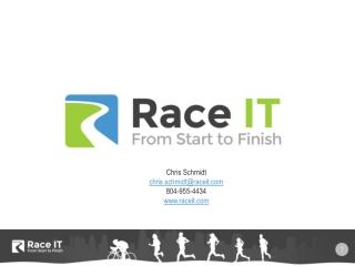 RaceIT Online Registration Overview