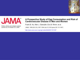 Reduction in egg consumption has been widely recommended to lower blood cholesterol levels and prevent coronary heart di