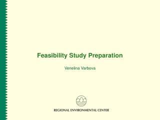 Feasibility Study Preparation  Venelina Varbova