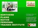 Primary Personal Trainer Cert