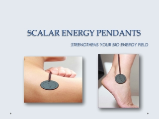 Scalar energy Pendants