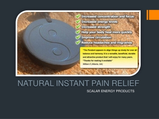 Scalar Energy Products