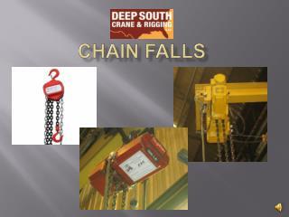 Chain falls
