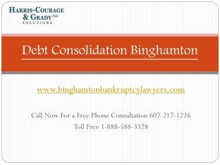 Chapter 7 and Chapter 13 Bankruptcy Lawyer Binghamton