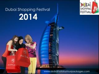 Dubai Shopping Festival 2014 Packages