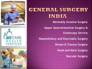 India Surgery General