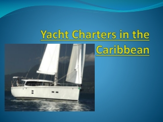 Yacht Charter Virgin Islands