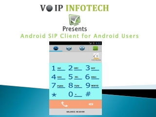 VoIP Android SIP Client for Android Users
