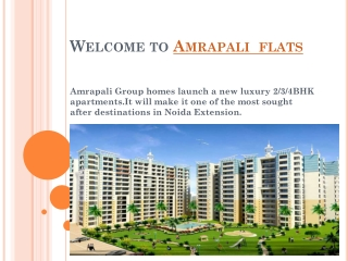 Cheapest  flat in noida extension