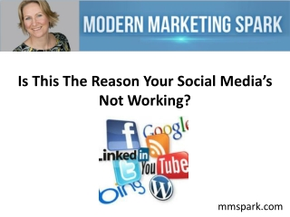 Is This The Reason Your Social Media's Not Working?