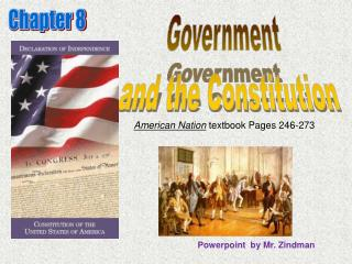 Government   and the Constitution