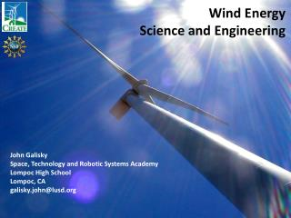 Wind Energy Science and Engineering
