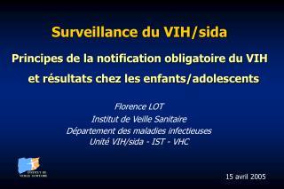 Surveillance du VIH