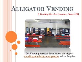 Vending Machines Los Angeles