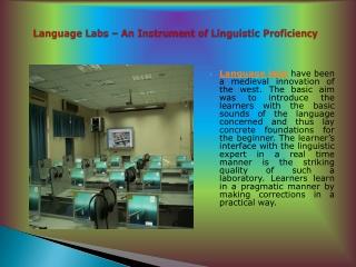 Laboratorio linguistico multimediale