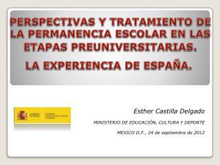 PERSPECTIVAS Y TRATAMIENTO DE LA PERMANENCIA ESCOLAR EN LAS ETAPAS PREUNIVERSITARIAS.