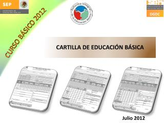 CARTILLA DE EDUCACI N B SICA