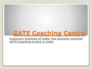 GATE Coaching Centre