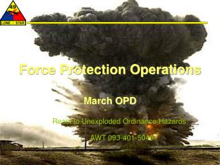 Force Protection Operations