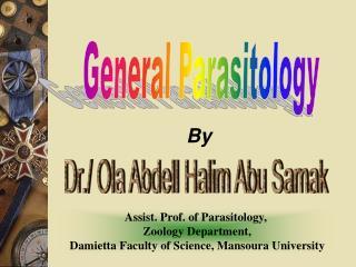 General Parasitology