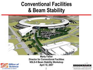 Conventional Facilities   Beam Stability