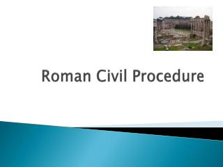 roman civil procedure