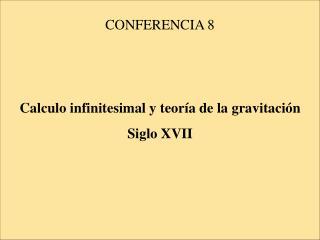 CONFERENCIA 8