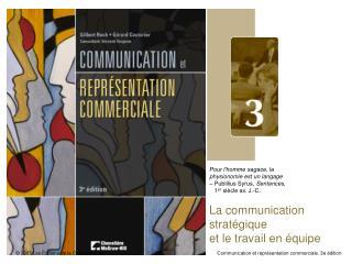 La communication strat gique et le travail en  quipe