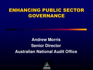 enhancing public sector governance