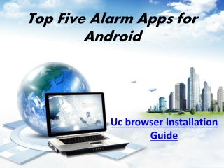 Top Five Alarm Apps for Android