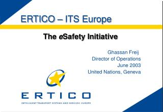 ERTICO   ITS Europe