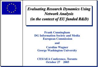 Evaluating Research Dynamics Using Network Analysis  in the context of EU funded RD